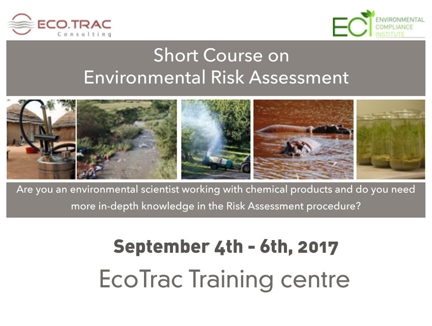 Short Course on Environmental Risk Assessment